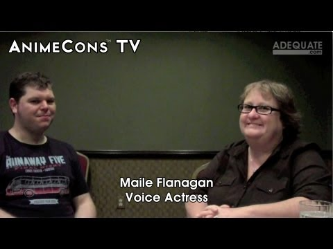 AnimeCons TV - Maile Flanagan Interview