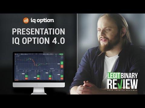 Presentation Of The IQ Option 4.0