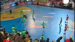 كاس افريقيا لكرة اليد 2012 فوزهيتشكوكي للجزائر على مصر