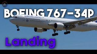 EuroAtlantic Boeing 767-34P(ER) landing 🛬