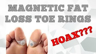 Magnetic FAT LOSS Toe Ring Review - Does it Work?