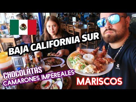 VENEZOLANO PRUEBA COMIDA DE BAJA CALIFORNIA SUR MEXICO 🇲🇽