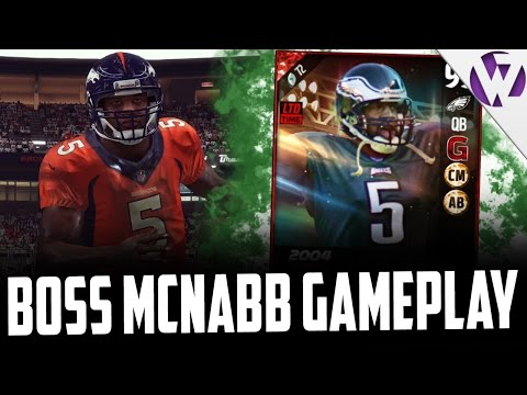 ULTIMATE LEGEND DONOVAN MCNABB DOES IT ALL!!! - MADDEN 17 ULTIMATE LEGEND DONOVAN MCNABB GAMEPLAY