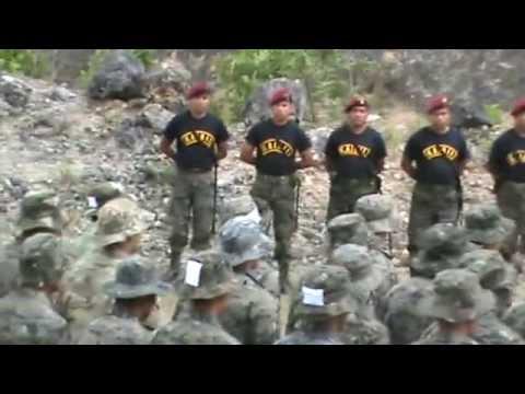 Bienvenida al Curso de Fuerzas Especiales KAIBIL