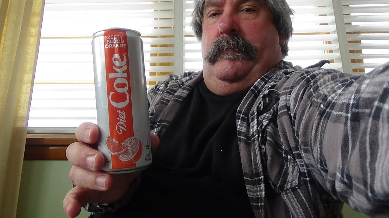 diet coke blood orange reviews