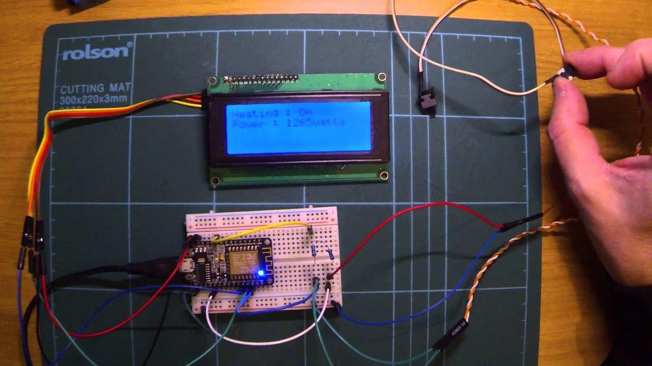 Nodemcu Devkit (esp8266) Display Temperature on an I2c Lcd