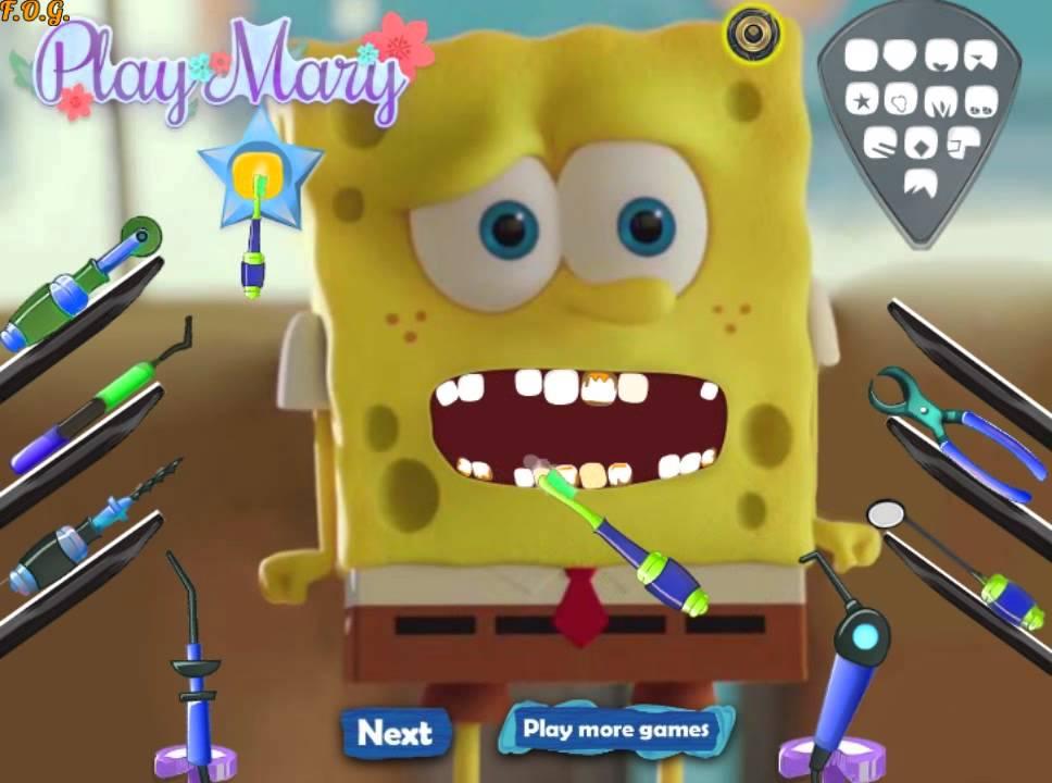Игры стоматолог для губки боба любовь полищук и ее отца