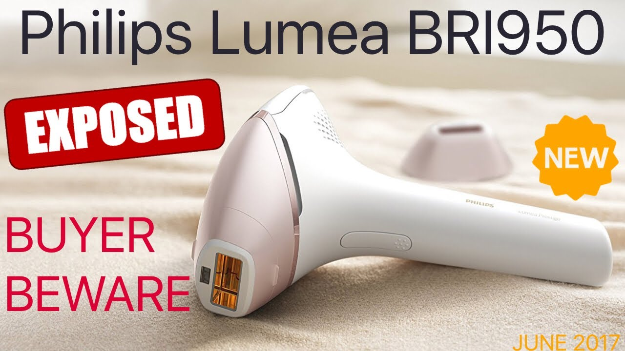 MISLEADING MARKETING! Philips Lumea BRI950 Prestige IPL 🇬🇧 for hair and  face