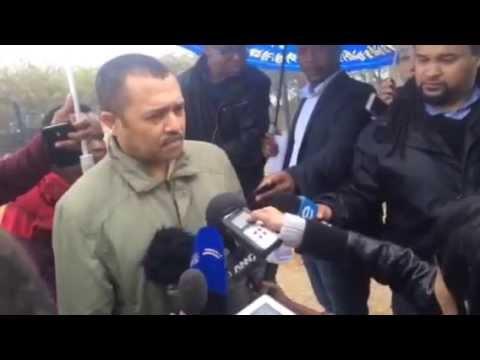 Nkandla site visit inspection