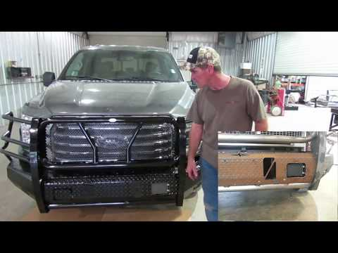 Frontier Front Bumper Replacement 2015-17 Ford F-150 Installation
