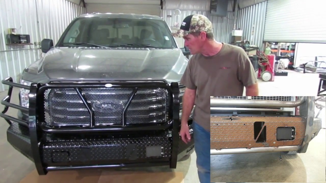 Frontier Front Bumper Replacement 2015 17 Ford F 150