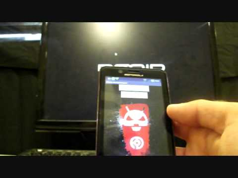 Droid Bionic Bootstrap clockwork mod custom Recovery Install overview