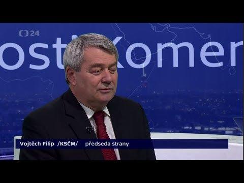 #8 Předvolební rozhovor: Vojtěch Filip /KSČM/