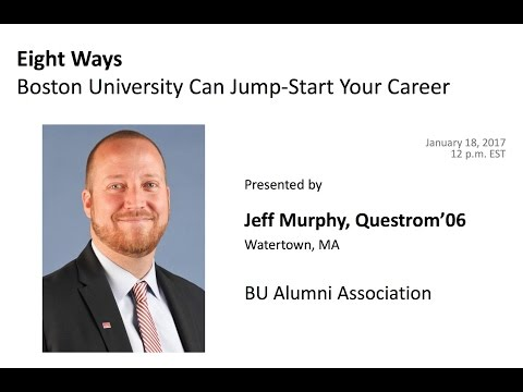 Eight Ways Boston University Can Jump-Start Your Career