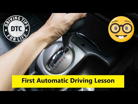 What To Expect On Your First Automatic Driving Lesson