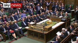 Theresa May faces Jeremy Corbyn in first PMQs of 2019