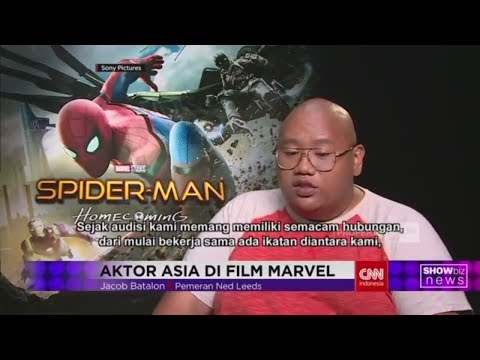 Jacon Batalon, Aktor Asia di Film Marvel Spiderman