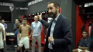 ¡¡¡ Así se vivió en el vestuario la victoria ante el RCD Espanyol !!!