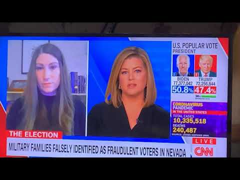 President Trump Campaign Accusing Military Families Of Being Fraudulent Voters. Watch Brianna Keilar