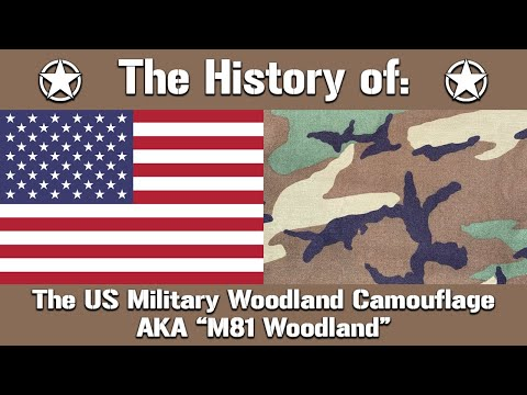 The History Of: The US Military Woodland Camouflage Pattern AKA
