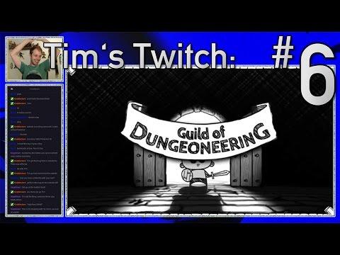 Tim's Twitch - Guild of Dungeoneering: 6. Terror Bull Behavior