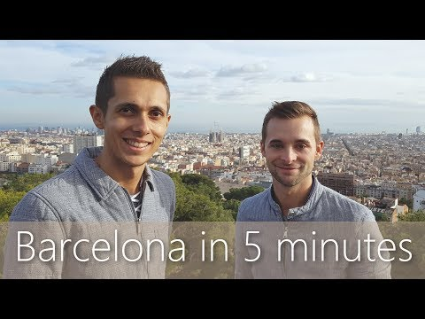 Barcelona in 5 minutes | Travel Guide | Must-sees for your city tour