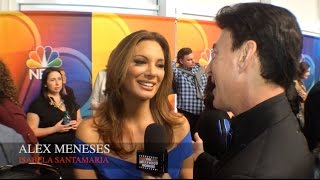ALEX MENESES NBC's TELENOVELA Preview Interview with The Hollywood Moment