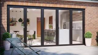 Warmcore Homes - WarmCore Aluminium Bi Folding Doors