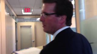 Michael Fougere moves into the mayor 39 s office