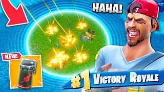 *NEW* AIR STRIKE + Final Circle = EASY WIN!?