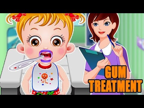 Baby Hazel Gums Treatment | Fun Game Videos By Baby Hazel Games