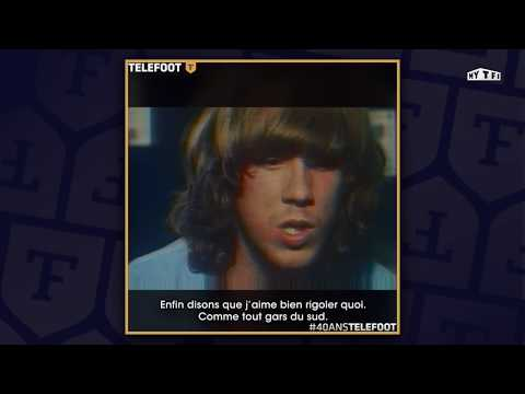 40 ans de Téléfoot : Portrait du jeune Laurent Paganelli