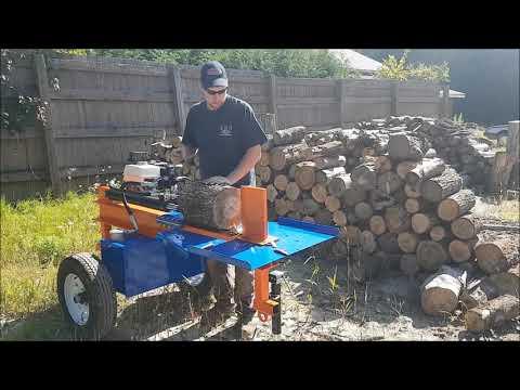 FASTEST Hydraulic Log Splitter Eastonmade ULTRA