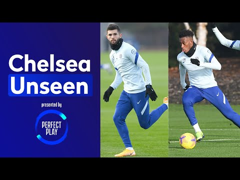 Christian Pulisic Is Back With A Bang, Hudson-Odoi Is On Fire In Shooting Drill  | Chelsea Unseen