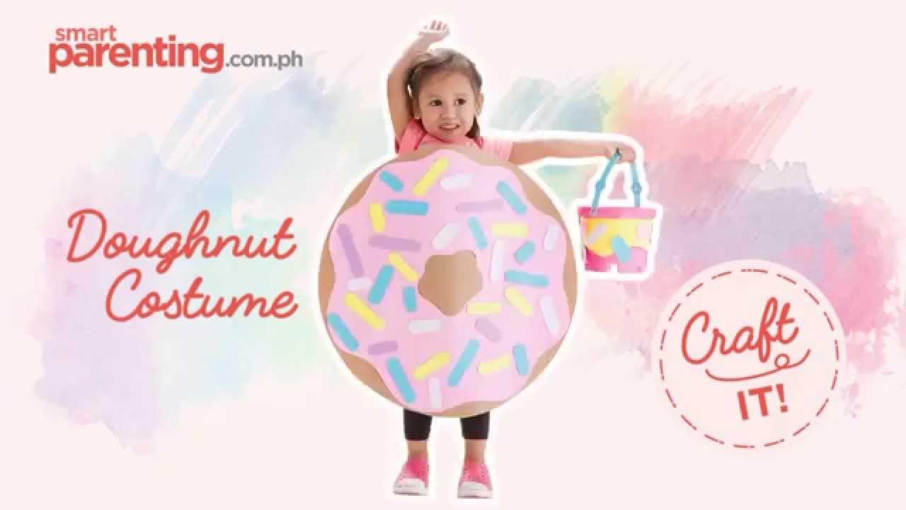 sc 1 st  YouTube & Craft It! Doughnut Costume - YouTube