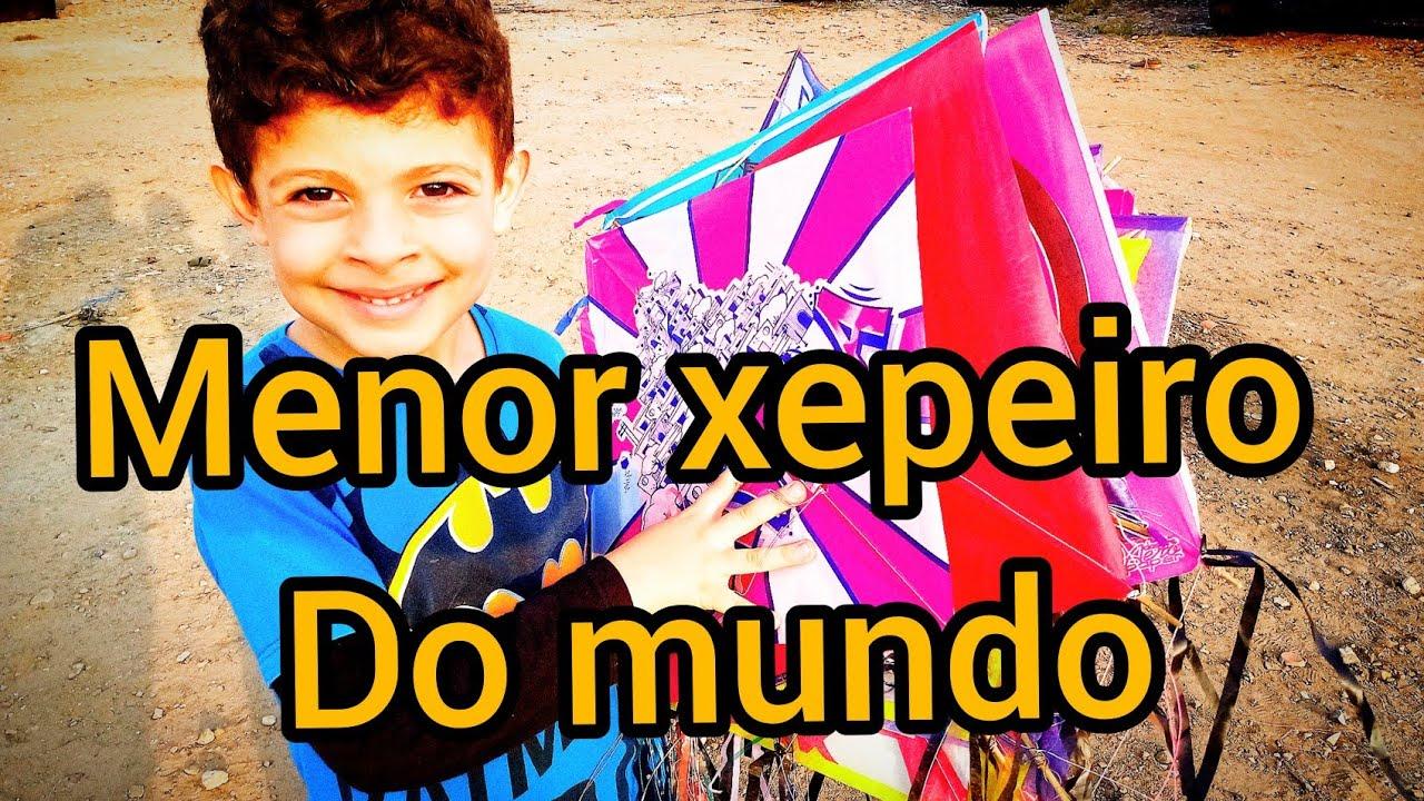 MENOR PIPEIRO DO MUNDO CORTOU 5 PIPAS E XEPOU MAIS DE 100 PIPAS  - SORTEIO PARA XEPAR NO TERRENO