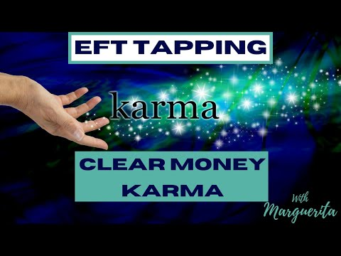 EFT Tapping to clear money karma and attract millions of dollars