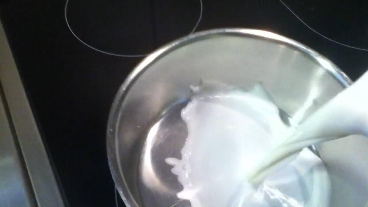 Vanille Eis mit einer Eismaschine machen - ein Rezept ...