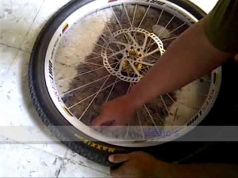 tutorial cara bongkar pasang ban sepeda MTB YouTube
