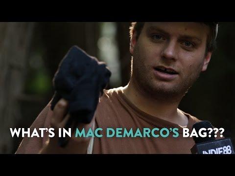What's in Mac DeMarco's Bag?