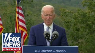 Biden holds a drive-in event in Atlanta to encourage Georgia residents to vote