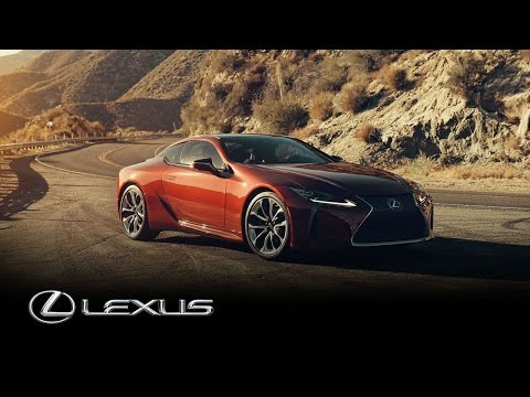Lexus LC 500 drives California's Angeles Crest Highway