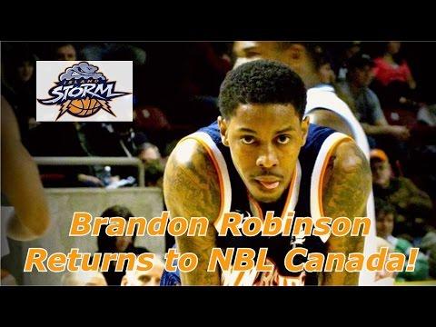Brandon Robinson Returns To NBL Canada!