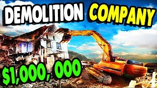 $$$ I DESTROYED a WHOLE TOWN with BIG MACHINES | Demolish & Build 18 Gameplay