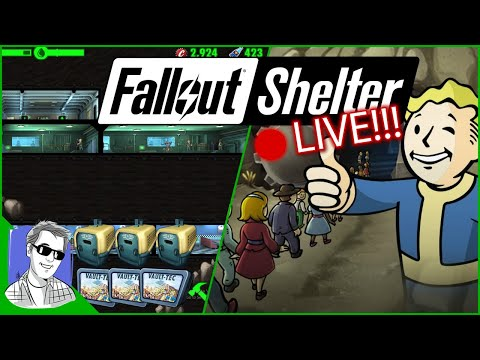 Back In Vault 001 - Fallout Shelter Livestream