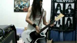 RAMONES - ♫ I Just Want To Have Something To Do (Guitar Cover)