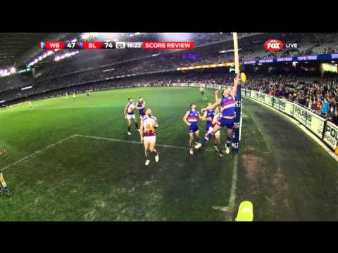 Is this a goal? You be the judge - AFL