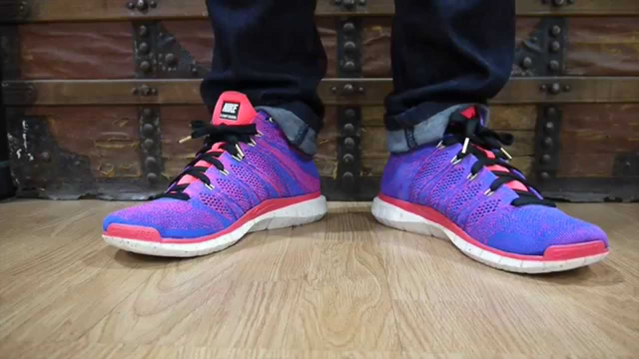 nike free flyknit chukka quotmercurialquot youtube