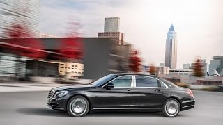 2016 Mercedes-Maybach S-Class S 600 Trailer