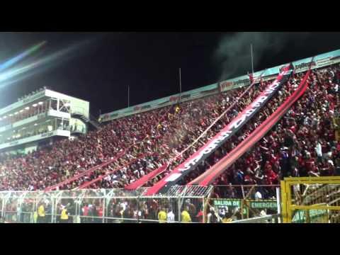 Gol + Celebración - Liga Deportiva Alajuelense 1 - 0 LocaS - Con la Gloriosa #12